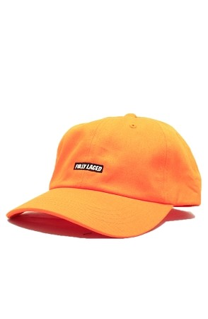 Fully Laced Classic Strapback Hat (Orange)