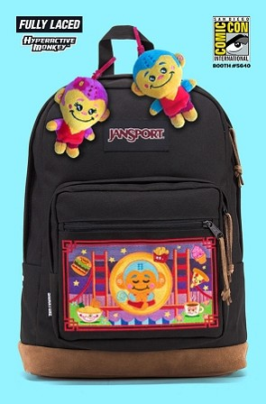 Fully Laced x Hyperactive Monkey x Jansport : 2018 Signature Series Backpack - LAST ONE