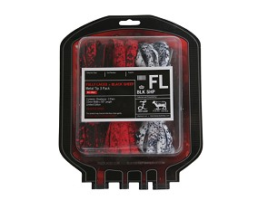 Fully Laced x Black Sheep Blood Transfusion Laces Pack (BLACK PACK)