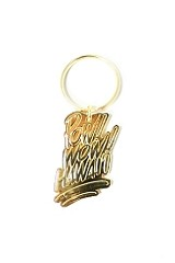 Fully Laced x Pow! Wow! Hawaii Keychain (Gold)