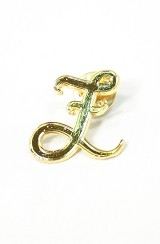 The Monogram Pin (Gold)