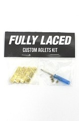 Fully Laced Custom Aglet Kit (Gold)