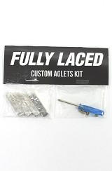Fully Laced Custom Aglet Kit (Silver)