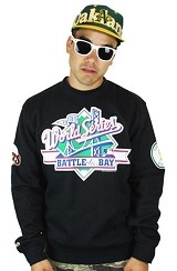 Fully Laced Exclusive Mitchell & Ness 1989 World Series Battle of the Bay Crewneck Sweatshirt
