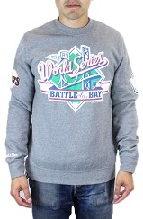 Fully Laced Exclusive Mitchell & Ness 1989 World Series Battle of the Bay Crewneck Sweatshirt (Gray)