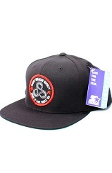 Fully Laced X TheFWord Secret Sneaker Society Snapback Hat (Black)