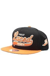 Fully Laced Tailsweeper Snapback Hat (Black/Orange)