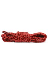 Rope Laces (Black/Red)