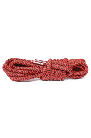 Rope Laces (Fire Red/Black)
