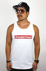 The Sneakerhead Tank (White/Red)