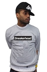The Sneakerhead Crew (Gray/Black)