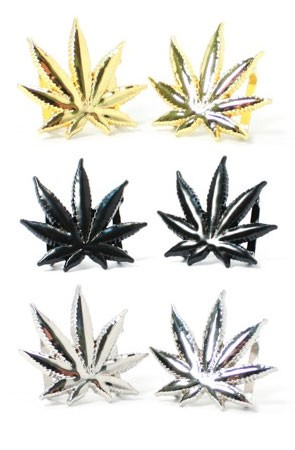 4/20 Special 3-Pack: Leaf Lace Locks (Gold, Black, Silver)