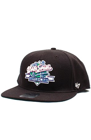 Battle of the Bay Snapback Hat (Black)