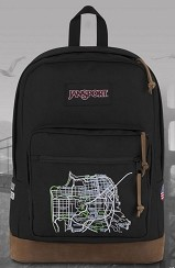 Fully Laced x Jansport : Right Pack Signature Series Backpack