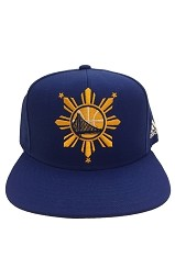 Golden State Warriors Filipino Heritage Snapback Hat (Blue)