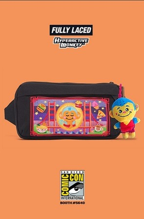 Fully Laced x Hyperactive Monkey x Jansport : 2018 Signature Series Waist Pack - LAST ONE