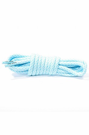 Rope Laces (Carolina Blue/White)